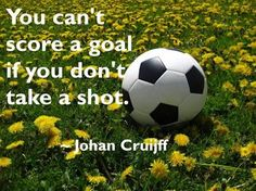 Inspiring soccer quotes for women soccer. Help out your local nonprofits.