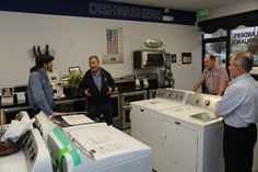 Visit our top of the line showroom for next new appliance.