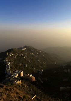"Al Fifa mountains - Saudi Arabia   •   ""Al Fifa hills are 2000 meters high, so it has became a place where many saudi people from the coast want to come for the fresh air."""