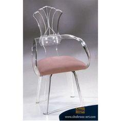 Shahrooz Shellback Acrylic Arm Chair (Set of 2) Upholstery: Brown
