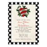 Rockabilly Wedding 5x7 Paper Invitation Card