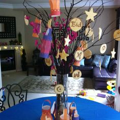 A Eid Sugar Cookie Tree! Or just with lit branches & candies..