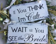 Here comes the love of your life sign ring bearer sign by KerriArt