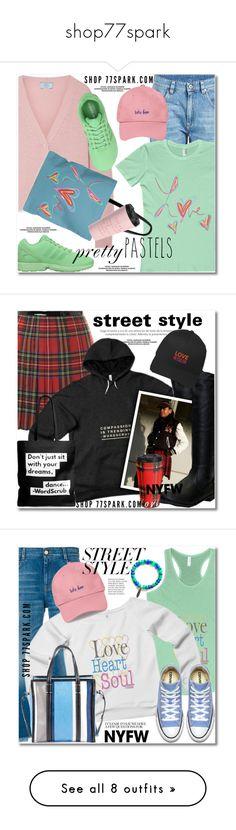 """shop77spark"" by duma-duma ❤ liked on Polyvore featuring Prada, Brunello Cucinelli, adidas Originals, pastelsweaters, Dsquared2, parisfashionweek, Packandgo, STELLA McCARTNEY, Balenciaga and contestentry"