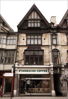 In England Starbucks #starbucks, #pinsland, #coffee, https://apps.facebook.com/yangutu