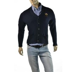 Get the smart look in this cardigan sweater by Abercrombie & Fitch