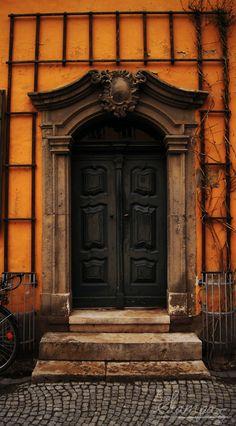 Door, Weimar, Thuringia, Germany