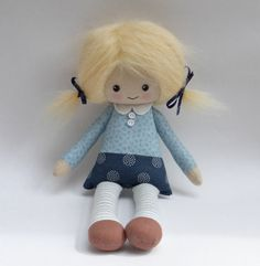 Reserved for Ele custom cloth doll, design your own rag doll