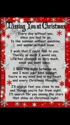 missing you Chuck at Christmas time it is but a long 10 years 2015 but yet it just seems like it's the first Christmas without you love and miss you so much Merry Christmas in heaven my  son
