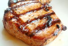 Tender Grilled Pork Chops from Mel's Kitchen Cafe. Tried them last week and making them again tonight. Yummy!