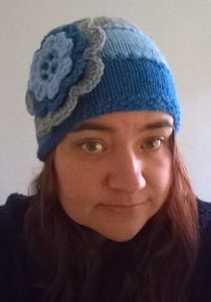 My first knit in the round hat.  have no idea why I've avoided circular needles until now.  I can see a lot more knit in the round projects in my future!!