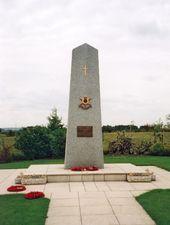 Burma Star memorial obelisk, Staffordshire © War Memorials Trust, 2006