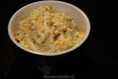 De allerlekkerste zelfgemaakte eiersalade Snack Recipes, Snacks, Tapenade, Lorem Ipsum, Finger Foods, Macaroni And Cheese, Dips, Salads, Menu