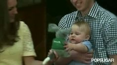 Prince George and Princess Charlotte's First Royal Tours   POPSUGAR Celebrity