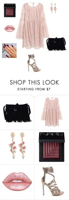 """""""Blush"""" by unpocoboho on Polyvore featuring WithChic, NARS Cosmetics and Lime Crime"""