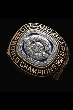 Photos: All the Super Bowl rings 1985 Chicago Bears, Chicago Bears Super Bowl, Chicago Chicago, Chicago Style, Chicago Illinois, Chicago Cubs, Mike Singletary, Mike Ditka, Bears Game
