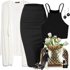 Sexy Classic by lisa-holt on Polyvore featuring MANGO, Boohoo, Doublju, Louis Vuitton and Christian Dior