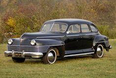 1942 Chrysler New Yorker Sedan Chrysler Windsor, Chrysler Imperial, Chrysler New Yorker, Vintage Cars, Antique Cars, Desoto Cars, Cool Old Cars, Chrysler Cars, Amazing Cars