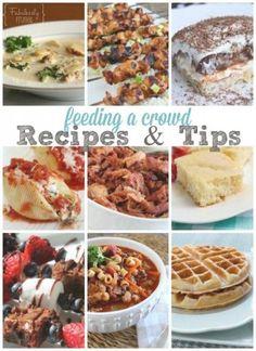 Feeding A Crowd Menu Ideas And Tips Recipes