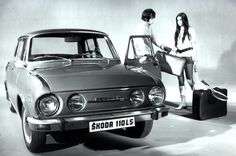 Škoda 100/110 (1969–1977) Car Makes, Love Car, Eastern Europe, Retro, Old Cars, Cars And Motorcycles, Vintage Cars, Classic Cars, Automobile
