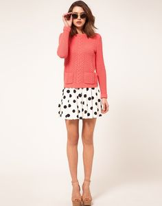 #polkadots and leg-lengthening nude shoes. gotta have.