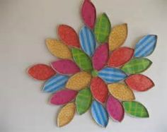 flower art / Upcycled Toilet Paper Rolls / Recycle paper towel rolls ...