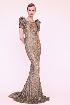 Marchesa Resort 2013 -- looks like a modern Filipina terno