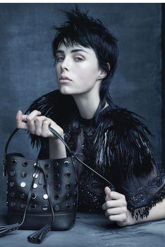 Louis Vuitton Models - edie cambell Ph- steven meisel
