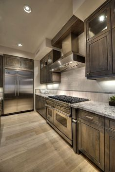 45 An Amazingly Beautiful Granite Countertops Kitchen Models 24 ~ Top Home Design Kitchen Cabinets Decor, Farmhouse Kitchen Cabinets, Kitchen Cabinet Design, Home Decor Kitchen, Home Kitchens, Modern Kitchens, Gray Cabinets, Kitchen Wood, Farmhouse Decor