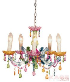 Pendant Lamp Barock Rainbow 5 Lights by KARE Design #pendantlamp #barock #lamp #chandelier #KARE #KAREDesign