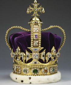 Коронационные регалии Великобритании (короны Англии)
