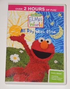 Sesame Street Elmo's World:All Day With Elmo Counting, Self-Confidence & Health