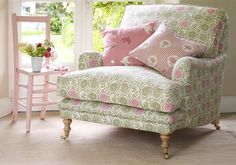 Designer Armchairs Made With Luxury Fabrics, Rustic Country Furniture - Vanessa Arbuthnott