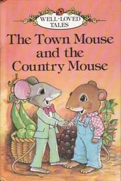 MOUSE AND THE COUNTRY MOUSE Ladybird Book Well Loved Tales Gloss Hardback 1989 Deep in the roots of an old tree, lived Country Mouse. love love loveDeep in the roots of an old tree, lived Country Mouse. 90s Childhood, My Childhood Memories, Childhood Stories, Sweet Memories, Ladybird Books, Little Library, 90s Nostalgia, Little Golden Books, Old Toys