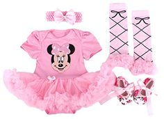 Baby Rae Clothing 4 in 1 Set: Skirt Shortall+Head Band+Legging Socks+Shoes-Pink Minnie Mouse Baby Rae http://www.amazon.com/dp/B00QPW0J26/ref=cm_sw_r_pi_dp_bDLKvb0GJPDGM