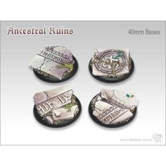 Ancestral Ruins - 40mm Round Bases