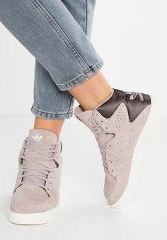 hot sales 65a02 7fe2b adidas Originals TUBULAR INVADER 2.0 - Sneaker high - vapour grey offwhite  - Zalando.