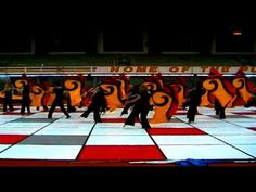 Purdue Winterguard 2011 - Choose Your Groove Love the sequence starting at 4:07