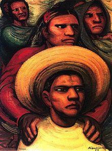 """""""El Reto"""" by David Alfaro Siqueiros"""