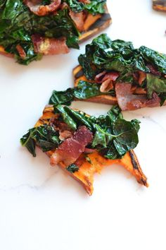 Snack on This Paleo & Whole30® Approved Bacon Kale Sweet Potato Toast