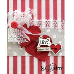 Spellbinders Card Making Ideas & Tutorial with Sapphire
