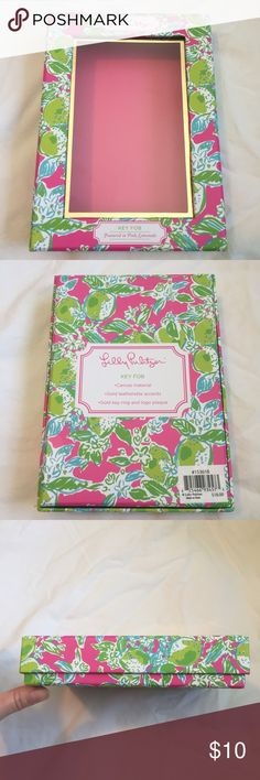 Lilly Pulitzer Box Lilly Pulitzer Empty Box✨🌸 Brand new Lilly Pulitzer box perfect for keeping small trinkets in💕🍃 Print is Pink Lemonade! Selling to earn money for college, and in need of cleaning out my closet😊 Lilly Pulitzer Accessories