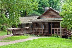 Log Cabin In Woods - Download From Over 50 Million High Quality Stock Photos, Images, Vectors. Sign up for FREE today. Image: 21456549
