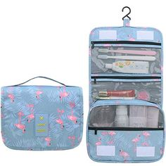 Heavy Duty Clear Travel Toiletry Makeup Bags Transparent Shaving Water Resistant