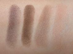 Dior GREGE, PANAMA, VELVET, CHOC CLAIR Diorshow Mono Eyeshadow Swatches, Review & EOTD - Blushing Noir