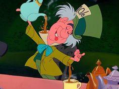 Não sou louco, apenas gosto muito de chá.