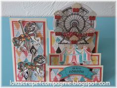 Cupcakes and Carousel Step Card, Stampin' Up!