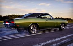 muscle cars   HD Wallpapers: 1920x1200 » Cars » Dodge charger muscle car