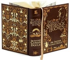 I am proud to declare that I own a copy of this edition! #beautifulbrownbinding #iloveholmes