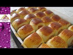 Patatesli Pamuk Poğaça Tarifi-Pratik Yemek Tarifleri - YouTube Turkish Delight, Turkish Recipes, Homemade Beauty Products, Hot Dog Buns, Food And Drink, Bread, Youtube, Wordpress Theme, Magazine